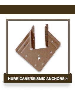 Hurricane/Seismic Anchors