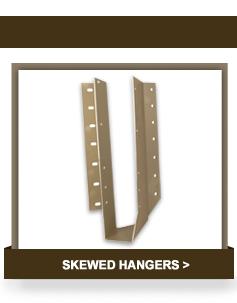 Skewed Hangers