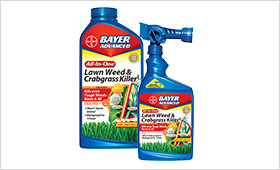 All-In-One Lawn Weed and Crabgrass Killer