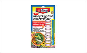 2-In-1 Insect Control Plus Fertilizer Plant Spikes