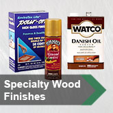 Specialty Wood Finishes