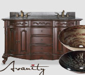 10% Off Avanity vanities, mirrors, vanity ensembles and bathroom sinks