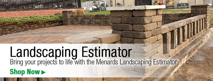 Landscaping Retaining Wall Blocks Menards Retaining Wall Block