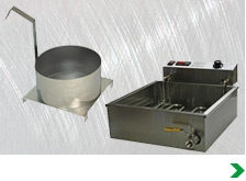 Funnel Cake Fryers and Accessories