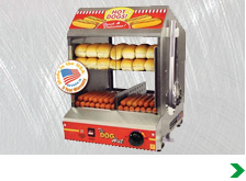 Hot Dog Steamers