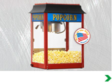 Popcorn Machines, Stands and Carts