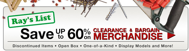 Ray's List Clearance & Bargains