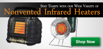 Non-Vented Infrared Heaters