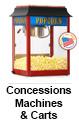 Concessions Machines & Carts