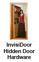 InvisiDoor Hidden Door Hardware