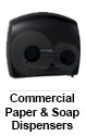 Commercial Paper & Soap Dispensers