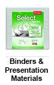 Binders & Presentation Materials