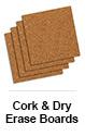 Cork & Dry Erase Boards