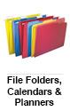 File Folders, Calendars & Planners