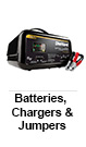 Automotive Batteries, Chargers & Jumpers