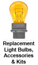 Automotive Replacement Light Bulbs, Accessories & Kits
