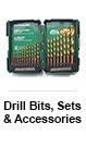 Drill Bits, Sets & Accessories