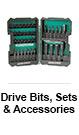 Drive Bits, Sets & Accessories