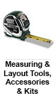 Measuring & Layout Tools, Accessories & Kits