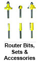 Router Bits, Sets & Accessories