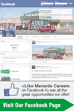 Facebook Menards Careers
