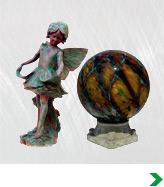 Gazing Balls & Statues
