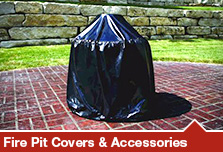 Fire Pit Covers & Accessories