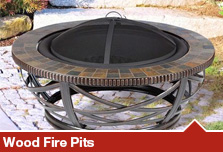 Wood Fire Pits & Rings