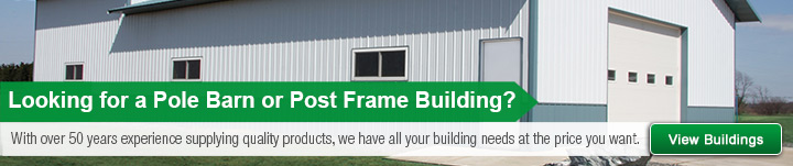 Pole Barn/Post Frame Buildings