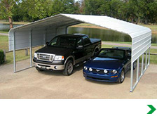 Metal Carports Shelters Extension Kits & Frames