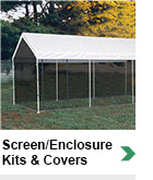 Screen Enclosure Kits & Covers