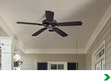 Covered Porch & Outdoor Ceiling Fans