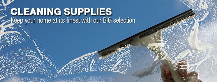 Cleaning Supplies. Keep your home at its finest with our big selection.