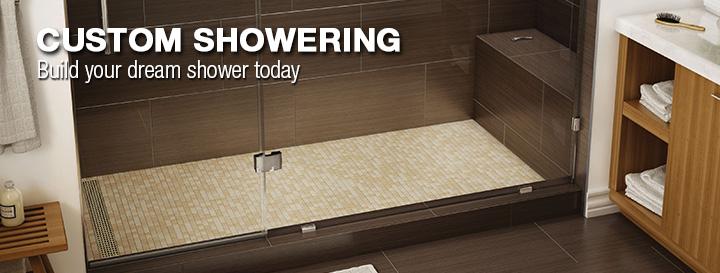 Custom Showering