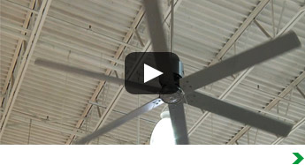 """Hunter 96"""" Industrial Ceiling Fan"""