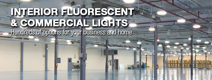 Fluorescent & Commercial Lights