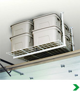 Ceiling-Mounted Storage