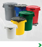 Trash Cans, Wastebaskets & Recycling