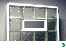 Custom Sized Vinyl Framed Vented