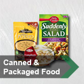 Canned and Packaged Food