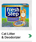 Cat Litter & Deodorizers