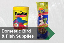 Domestic Bird and Fish Supplies