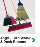 Angle, Corn Whisk & Push Brooms
