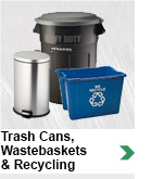 Garbage Cans, Wastebaskets & Recycling