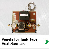 Panels For Tank Type Heat Sources