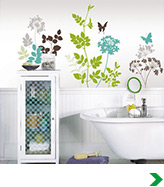 Floral Murals and Decals