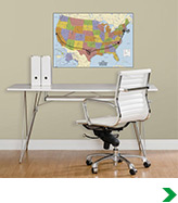 Map Murals and Decals