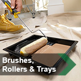 Brushes, Rollers & Trays
