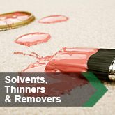 Solvents, Thinners & Removers