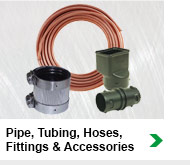 Pipe, Tubing, Hoses, Fittings & Accessories